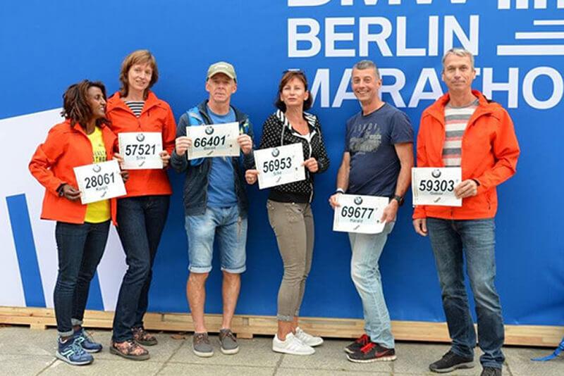 Marathonstrecke Berlin 2020